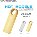 WANSENDA Fashion Design Mini key USB Flash Drive 128GB high speed pen drive 8GB 16G 32G 64G USB stick pendrive Memory Stick gift