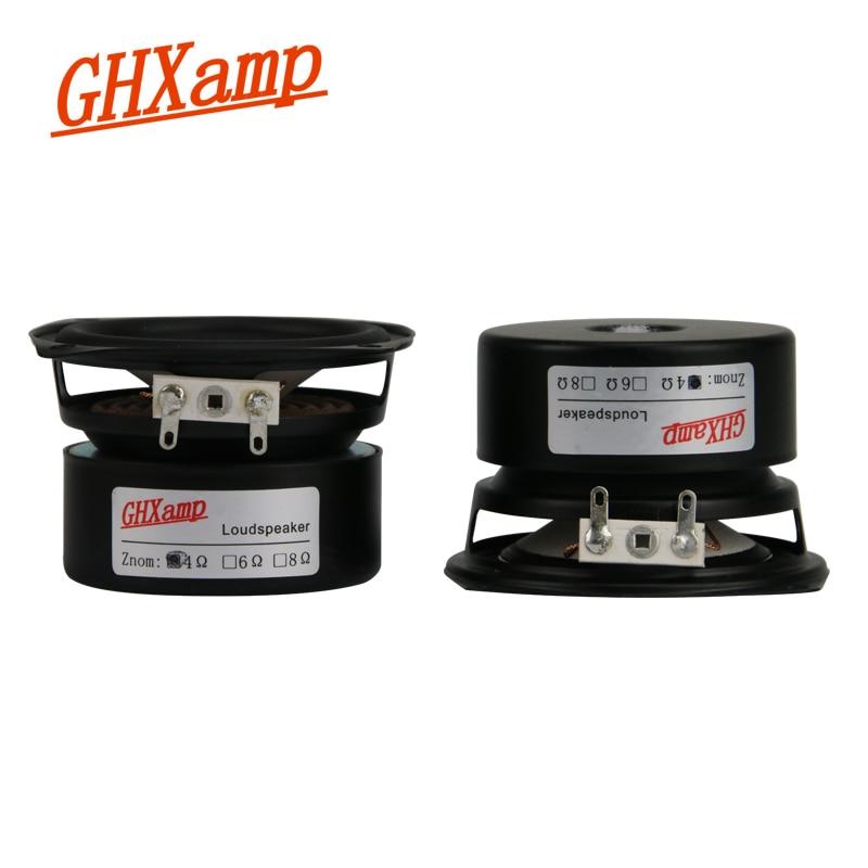 2.5 Inch 4Ohm 15W HIFI Full Range Speakers 2.1 Desktop Soundshelf Bluetooth Loudspeaker DIY Home Theater Soundbox 1 Pairs