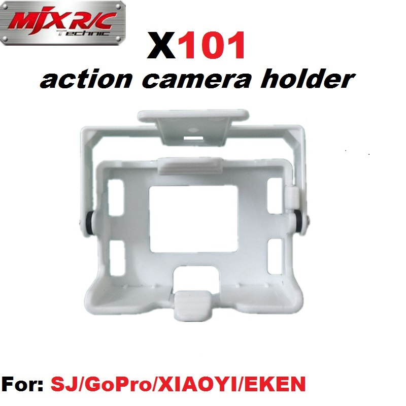 MJX X101 Camera Holder Frame Compatible With SJCAM GoPro XIAOYI EKEN Action Camera RC Drone Gimble Spare Parts Quadcopter Gimbal bullet camera tube camera headset holder with varied size in diameter