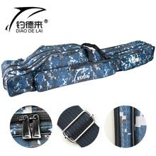Fishing Rod Bag 110/120/130/150cm 2-3 Layer Durable Fishing Tackle Bag