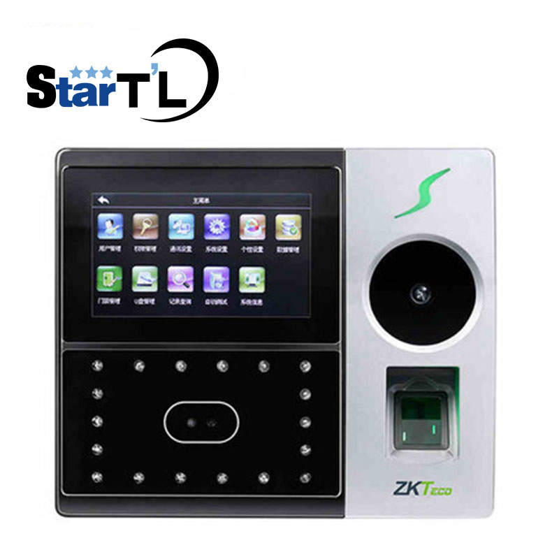 New Palm And Face Time Attendance Employee Hybird Biometric Fingerprint Attendance BioID Door Access Control