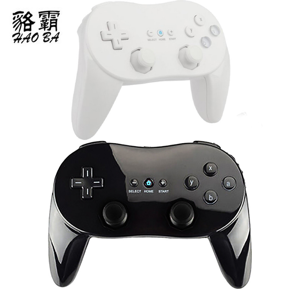HAOBA Classic Wired Game Controller Gaming Remote Pro Gamepad Shock Joypad Joystick For Wii Second-generation
