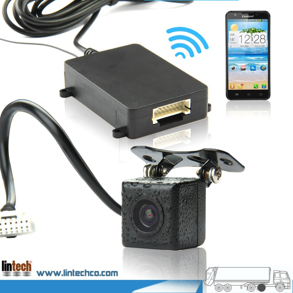 For IOS Android Latest Waterproof Digital Signal Wireless Wifi Backup Car Camera In Vehicle