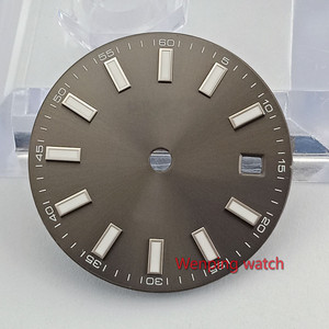 Image 4 - 29 mm Series Dial diameter size Watch part watch face miyota 8215 821A mingzhu 2813 3804 automatic movement P868