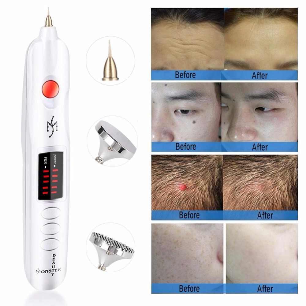 Bolígrafo de Plasma láser para levantamiento de párpados, pecas, eliminador de manchas de acné, máquina de eliminación de tatuajes con láser para cara, pluma láser de picosegundos