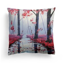 4Pcs Printed Cushion Cover for Sofa Car Chair Seat Cushion Pillow Cover Throw Pillowcase Tree Decorative Cushion Cover 45*45cm диванная подушка cushion cover pillowcase 45 45 01 page 4