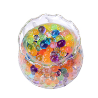 1000Pcsx30 Bags Pearl Shaped Crystal Soil Water Beads Mud Grow Magic Jelly Balls Home Decor Aqua