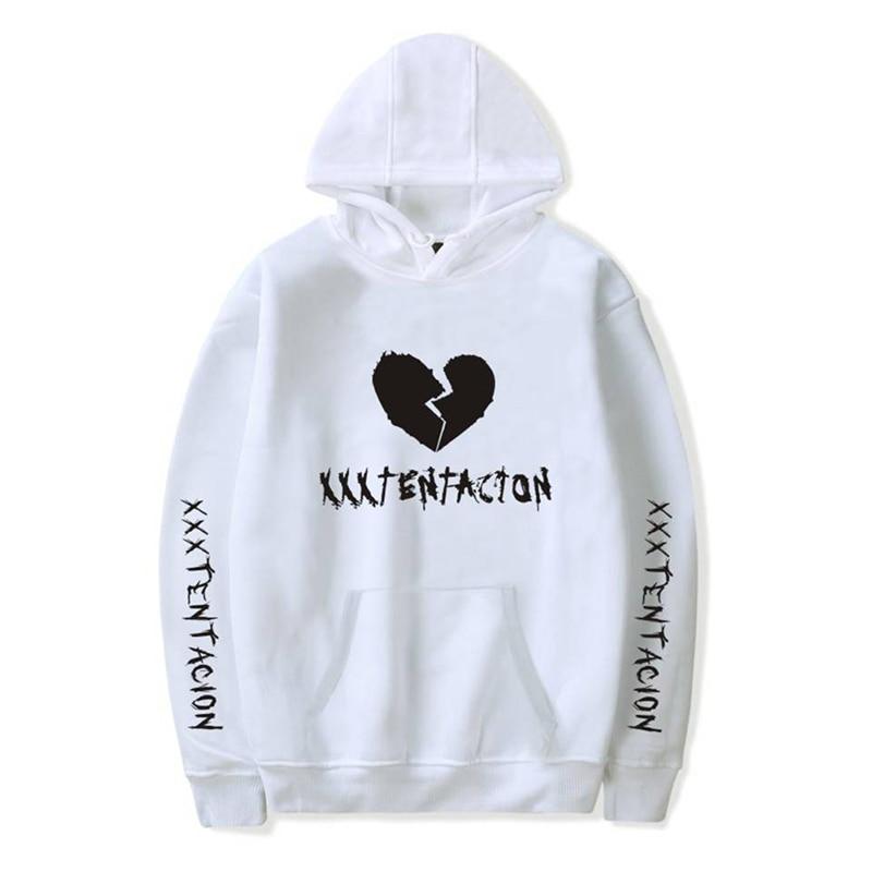 HTB1MhZ J1GSBuNjSspbq6AiipXa3 - New Fashion Hoodies Men Casual Hip Hop XXXTentacion Printed Pullover Sweatshirt Men Clothing