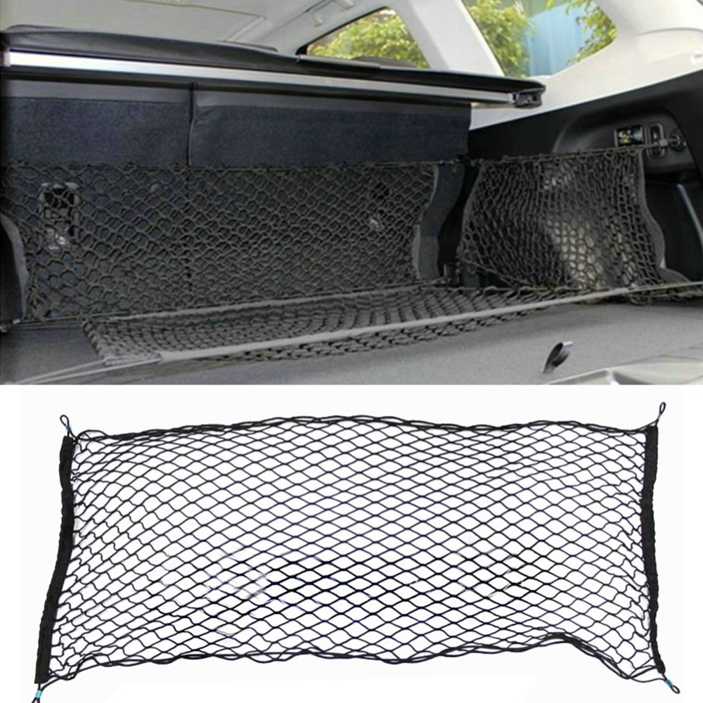 Truck Bed Cargo Net >> Us 8 39 25 Off 41 X 25 Inches Cargo Net For Suv Truck Bed Or Trunk Elastic Nylon Mesh Universal Rear Car Organizer Net Black 276274 In Nets From