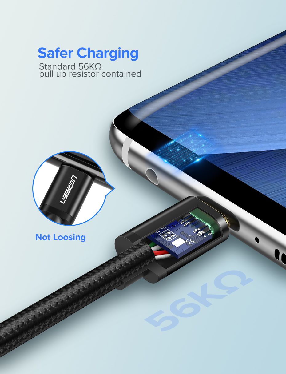 Ugreen USB Type C Cable And Mobile Phone Charging Cable For Fast Charge 6