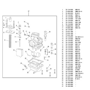 Image 5 - Zs Racing Motorfiets Mikuni 28Mm 30Mm 32Mm 34Mm 38Mm TM28 TM30 TM32 TM34 TM38 Carburateur flat Slide Smoothbore Voor 2 T Motor