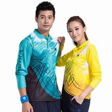 New man 17043 woman 27047 travel sports ping pong jerseys speed dry table tennis suit Polo shirt