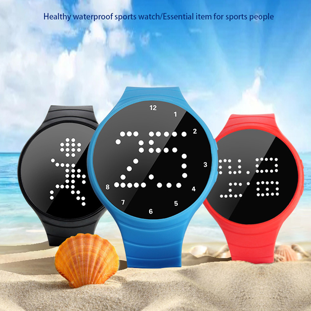Smart Band R6 Fitness Tracker Bracelet Real-time Display Passometer USB Sports five games led watch Best gift for kids women men