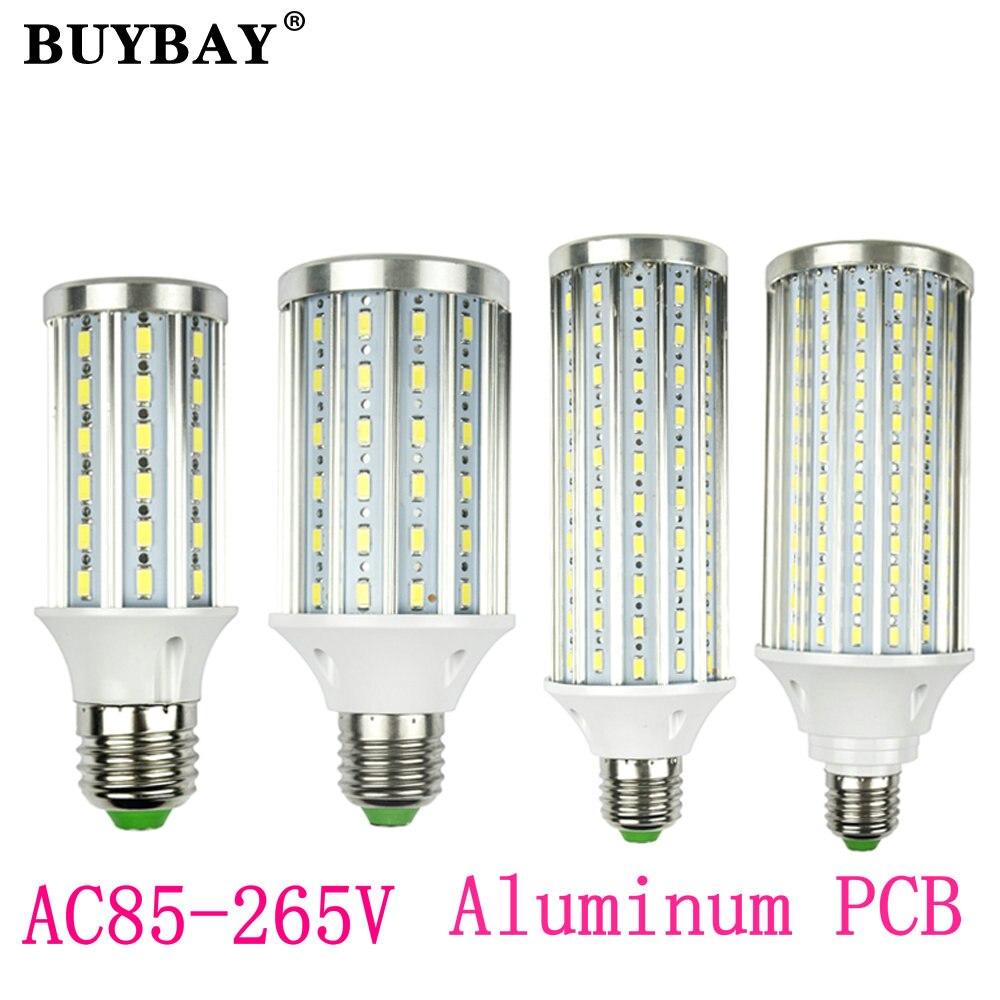 High power SMD5730 17w 20w 23w 25w 30w 45w bulb led lamp E27 corn light E14 led bomblias E40 B22 led spotlight 85-265V