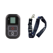 For GoPro Remote Smart WIFI Control+Lanyard Neck Chest Strap Mount For GoPro Hero7 6 5 4 3+4 Session Hero+Black Accessories new smart waterproof wifi remote control for gopro hero 6 5 4 3 hero 4 session 5 session camera wireless accessories