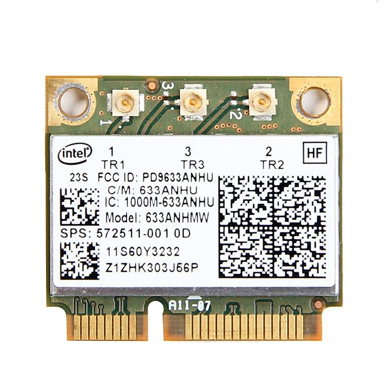 Notebook Wlan Dual Band Wireless Wifi Mini PCI-E Card For IBM Intel 6300 Agn FRU: 60Y3232 Thinkpad T430 X230 X220 T410 T420 X201