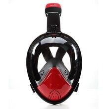Thenice nowy Pełna Twarzy Maska Do Nurkowania Snorkeling 180 Stopniowym polu Widzenia Maski Płynny Silikon Nurkowanie Podwodne Pływanie Zestaw