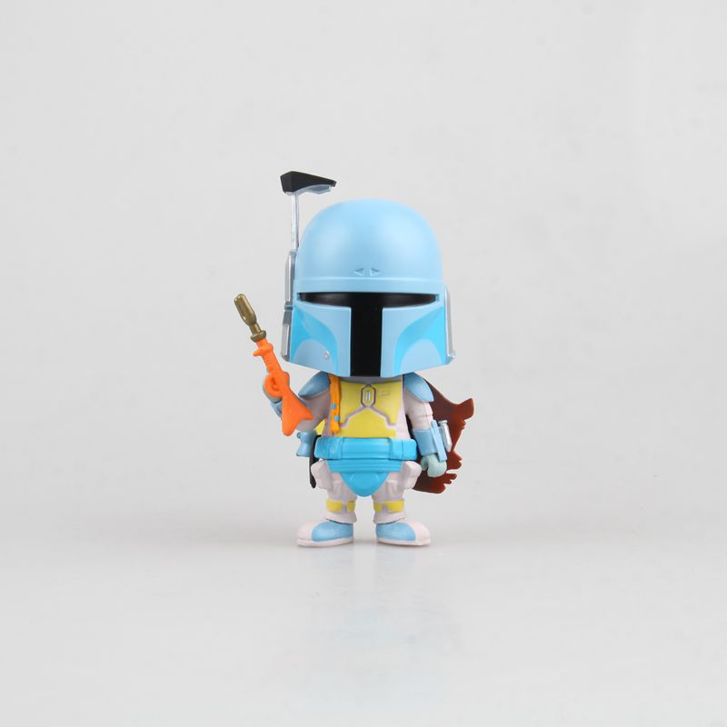 Image 5 - Car Ornament Cute Decoration Shaking Head Doll For Star Wars Stormtrooper Boba Fett Action Figure Auto Interior Bobblehead Toys-in Ornaments from Automobiles & Motorcycles