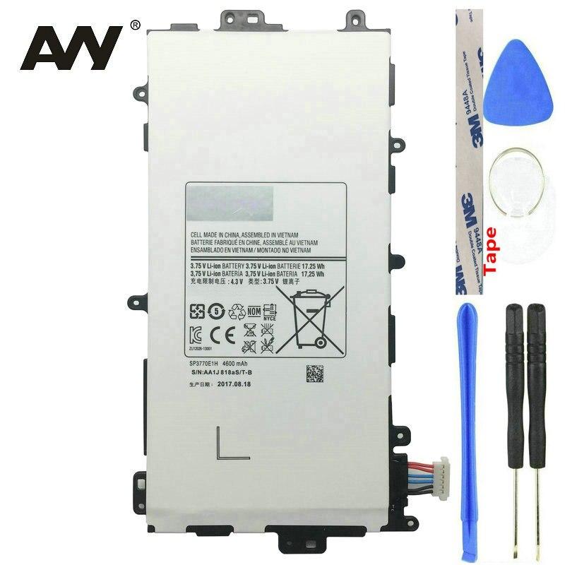 AVY SP3770E1H Батарея для Samsung Galaxy Note 8,0 8 Tab GT-N5100 GT-N5110 N5120 Замена Tablet батареи 4600 mAh