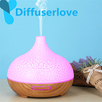 Diffuserlove 300ml Ultrasonic Air Humidifier for Home Essential Oil Diffuser Humidificador Mist Maker 7Color LED Aroma Diffusor|Humidifiers| |  -