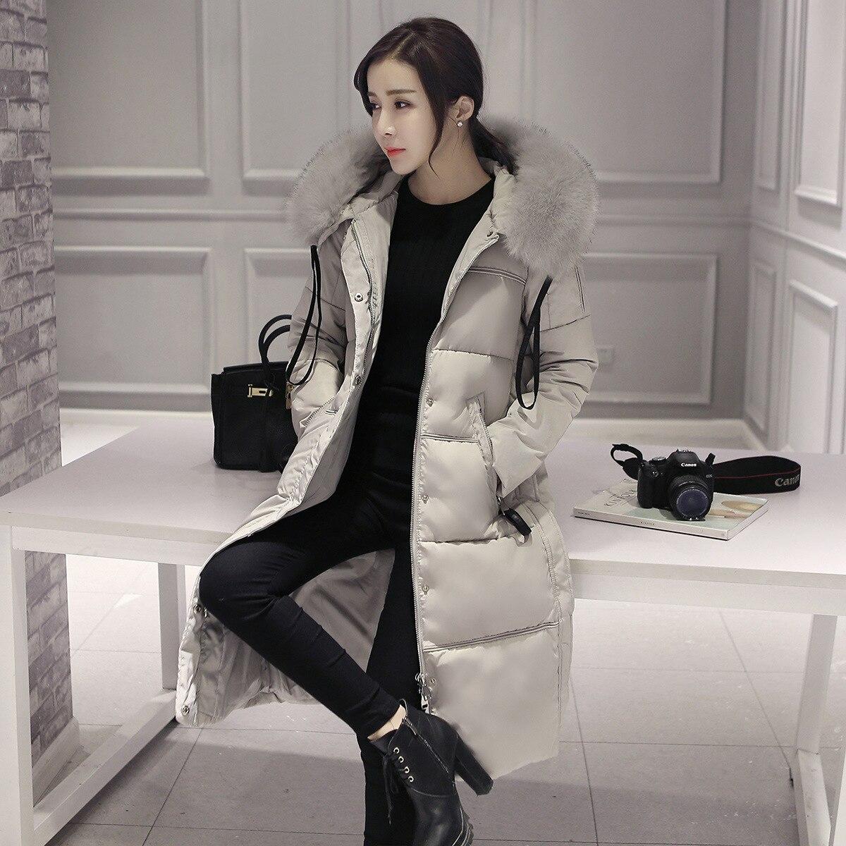 Woman Ukraine Winter Warm Windcheater Hooded Cheap Long Suit B font b Jacket b font Thick