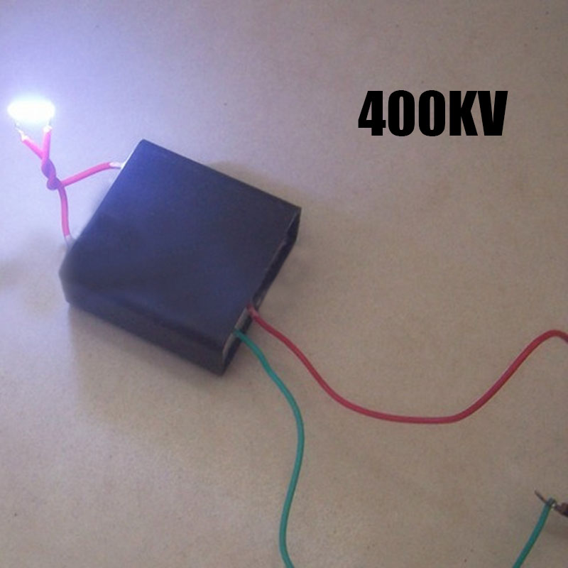 Square Pulse High Voltage Module DIY Generator Module Package Super Electric Arc FMC800 DC400KV for High