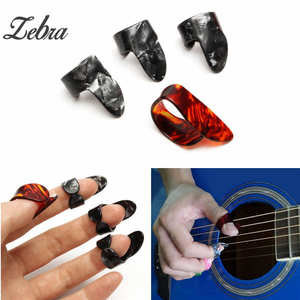 Clothing Sets Sweet-Tempered 4pcs Guitar Accessories Stainless Steel 1 Thumb And 3 Finger Nail Guitar Picks Plectrums Set Metal Acoustic Electric Bass Moderate Cost Girls' Clothing