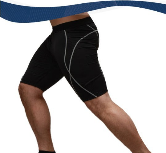 Athletic Men's Sport Tight Shorts Casual Leisure Summer Fitted Gym Men Workout Skinny Running Yoga Fight Short Male