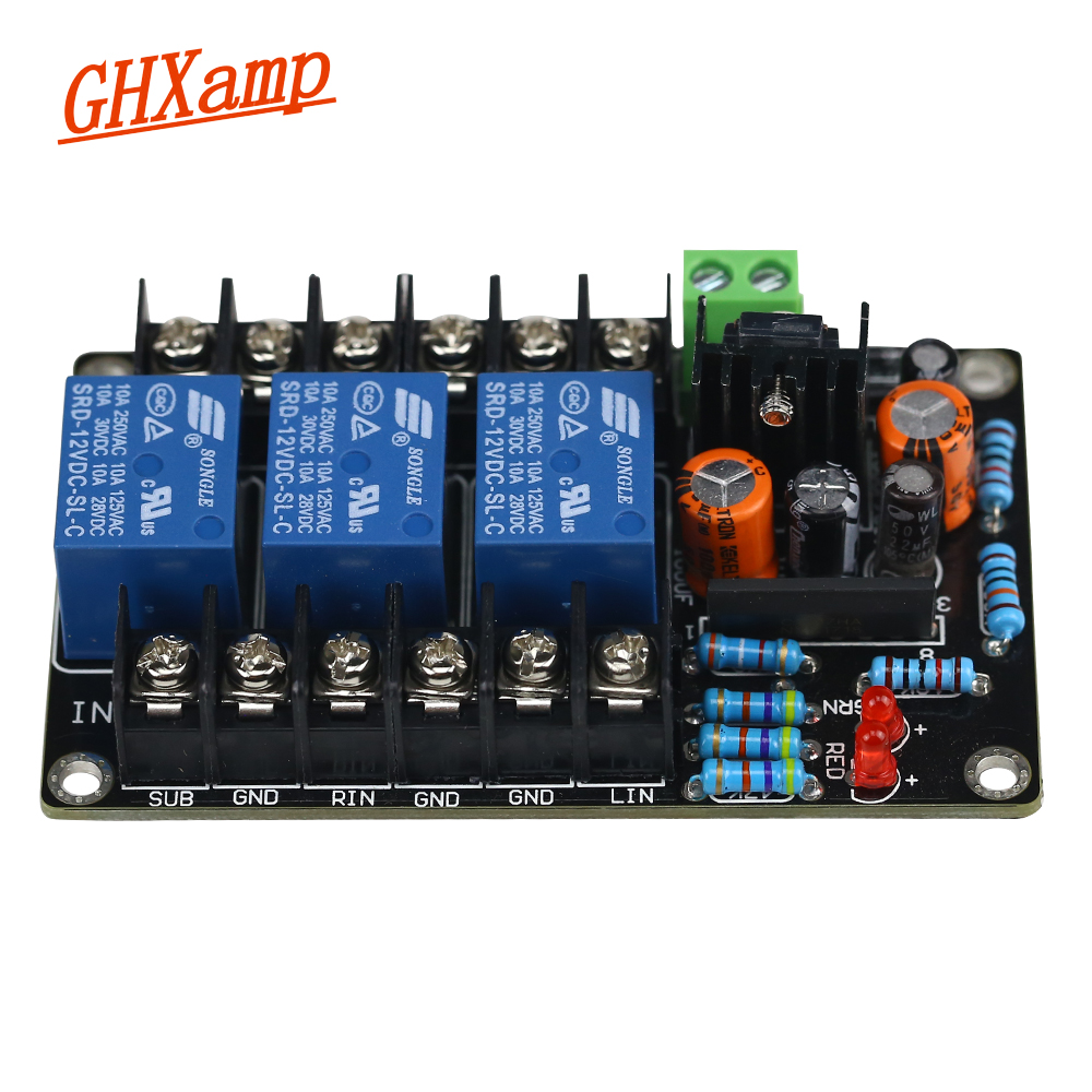Aiyima Upc1237 Speaker Protection Board Dual Channel Power On Delay Circuit Simple Dc Ghxamp 21 Subwoofer High