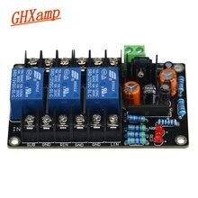 Ghxamp upc1237 2.1サブウーファーのスピーカー保護ボード2.1チャンネル高出力電源オン遅延3秒dc保護ac12 15v
