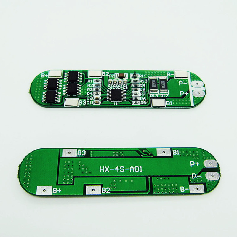 4S 12A 18650 Lithium Battery Protection Board for 4pcs 18650 Li-ion Lipo Battery Cell Charging BMS 14.8V 5pcs 2s 7 4v 8 4v 18650 li ion lithium battery charging protection board pcb 40 7mm overcharge overdischarge protection
