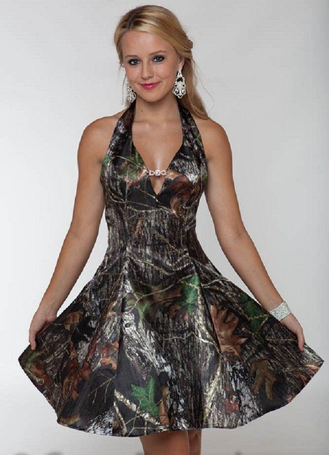 1312f6588afb1 Sexy Camo Cocktail Dresses Halter Satin Beaded Vestidos De Festa  Knee-Length Party Gowns ZX1436