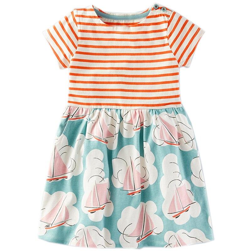 Mädchen Sommerkleid Baby Kleidung Einhorn Partei Blume Kinder ...