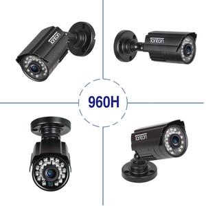 Image 2 - 4 パック CCTV カメラアナログ 960 H 1000TVL CMOS ir カット 24 個ナイトビジョン屋外 CCTV 弾丸カメラ防水セキュリティカメラ