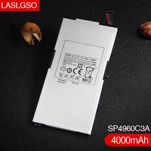 100% dobrej jakości 3.7 V 14.8wh 4000 mAh baterii SP4960C3A dla Samsung Galaxy Tab P1000 (GT P1000) P1010 (GT P1010) b056H004 001