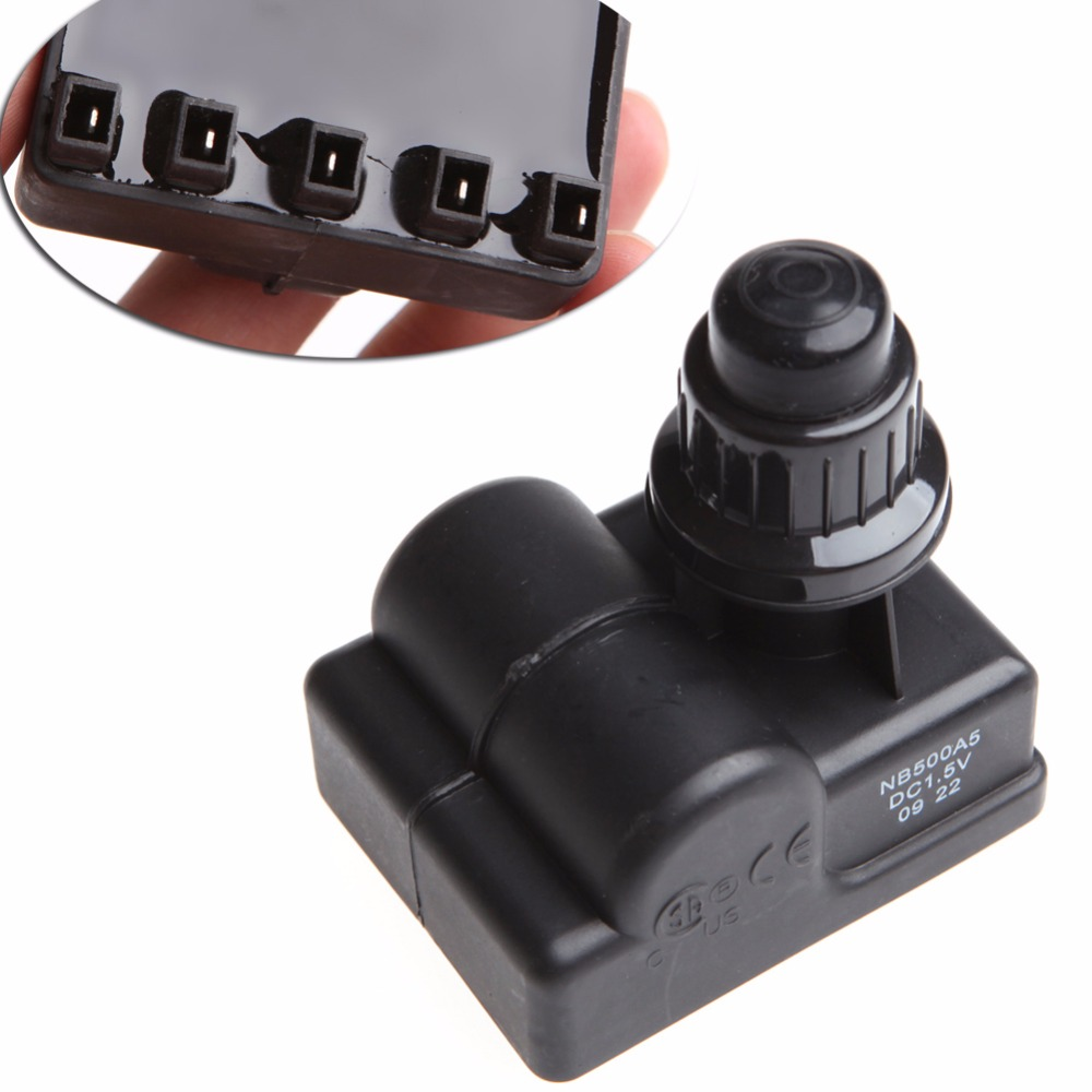 BBQ Gas Grill Replacement 5 Outlet AA Battery Push Button Ignitor Igniter New