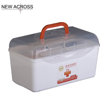 Gohide 1pcs Family Health Storage Box Large Child Medicine Box Car Care Box First Aid Kit
