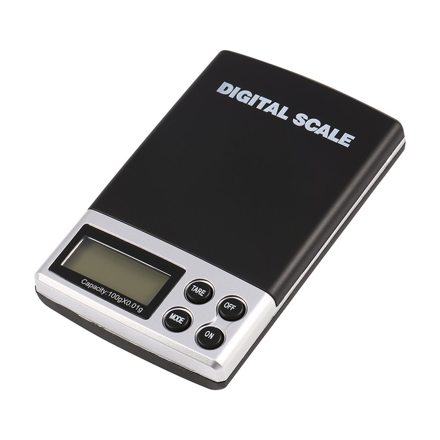 1000g/0.1g Mini Electronic Digital Jewelry Pocket Scale LCD Display Digital Scale Portable Balance Weight Weighing Scale