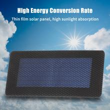 0.3W/2V Solar Cell 120*60MM DIY Soft Solar Panel Module Bendable Flexible Solar Battery Charger For Solar Lights Displays Toys(China)