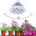 12 LEDs Grow Light AC85-265V Full Spectrum 12W E27 Indoor Hydroponics Plant Grow Light Superior Yield Higher Quality Flowers