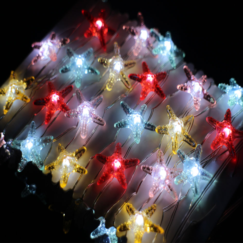 Image 3 - 3m 40 LEDs Waterproof Battery Operated Modelling Lights Copper Wire LED String Lights Christmas Fairy Lights With Remote&Timer-in LED String from Lights & Lighting on AliExpress