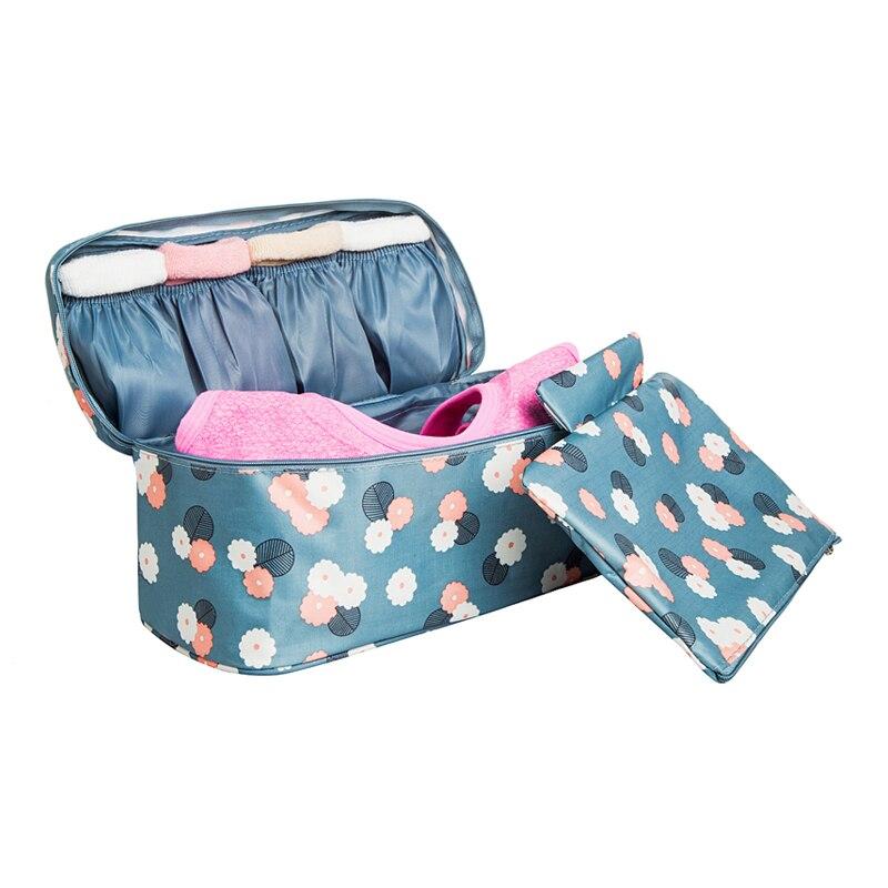 BAKINGCHEF путешествия хранилища мешок леди составляют косметические принадлежности одежда Бюстгальтер Организация Выходные Ночь нижнее бель...