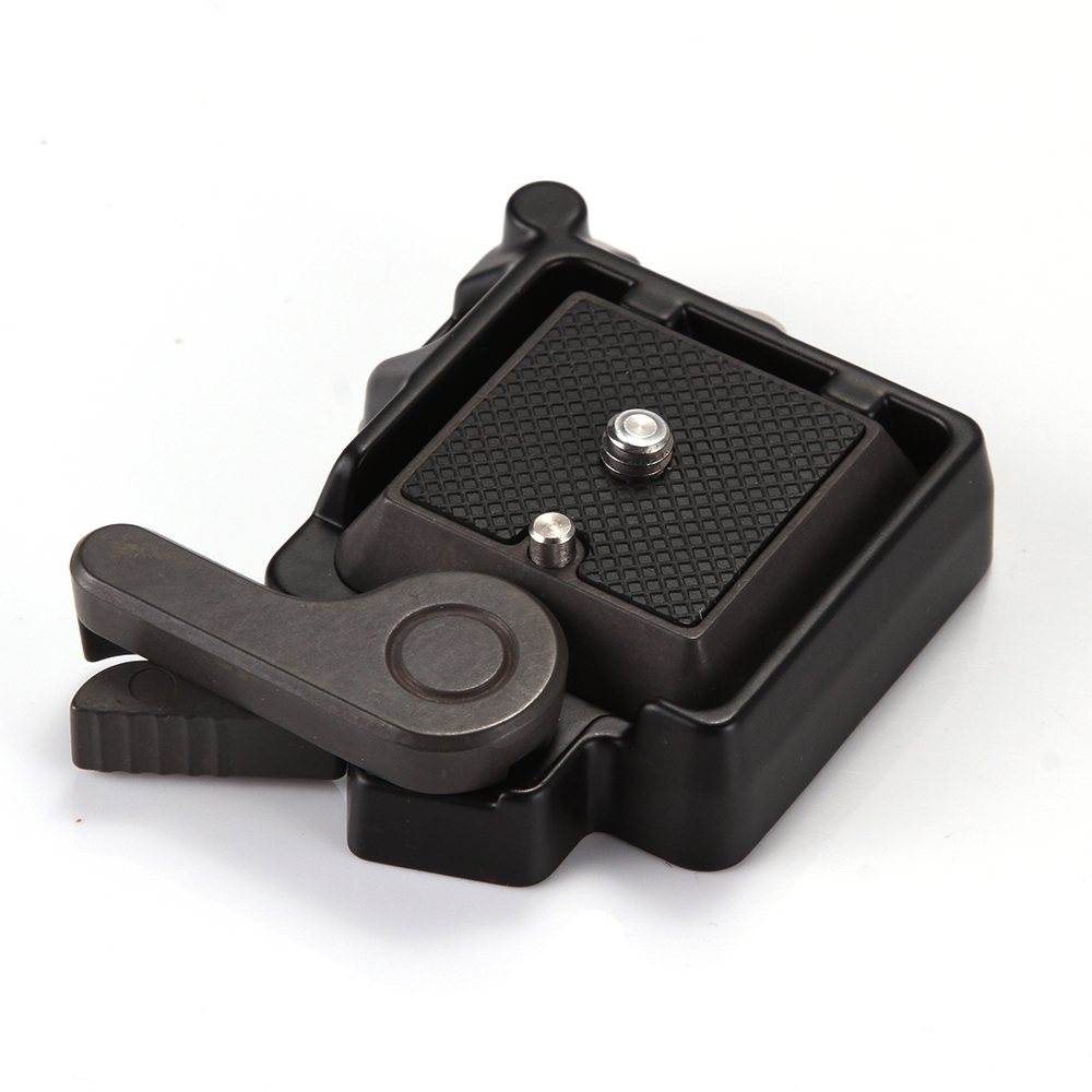 QR Schnellspanner Adapter Platte Montieren für Einbeinstativ Stativ Kugelkopf Arca Benro