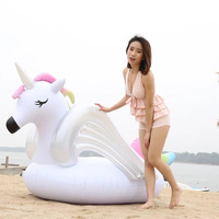 275cm Giant Inflatable Unicorn/Pegasus Pool Float Ride On Women Air Mattress Swimming Ring For Adult Summer Water Party Toy boia