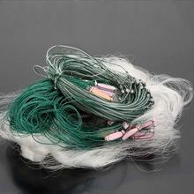 Fishing Net with Float 25m 3 Layers Fishing Network Durable Outdoor Sports Monofilament Gill with Float Fish Trap