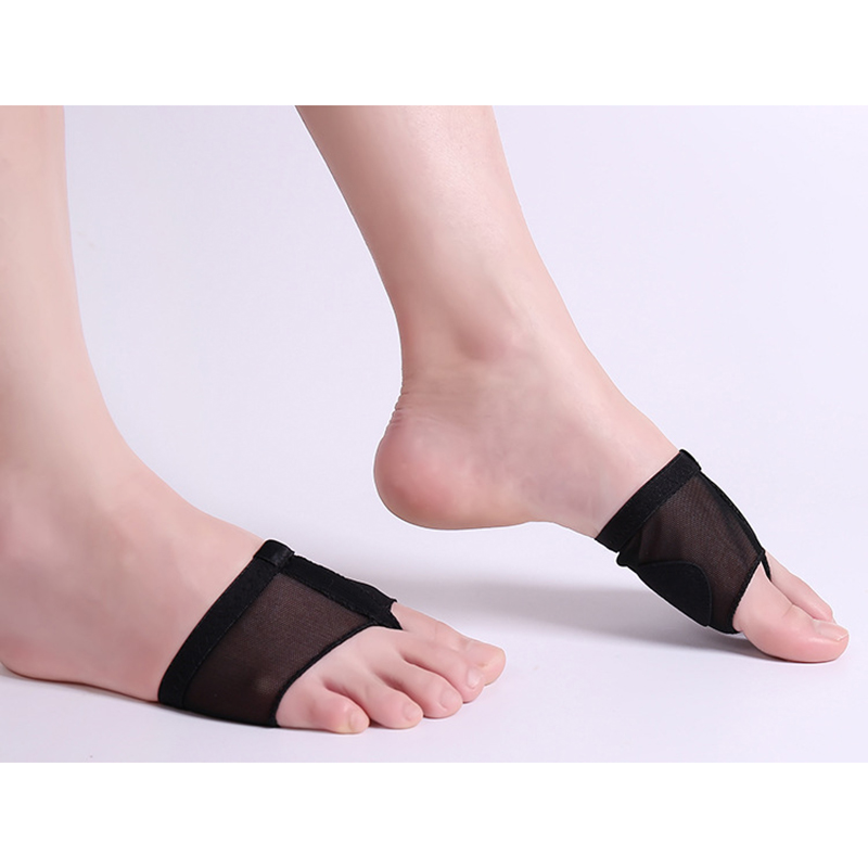 Black Beige Latin Ballet Belly Dance Shoes Foot Cover Forefoot Toe Paws