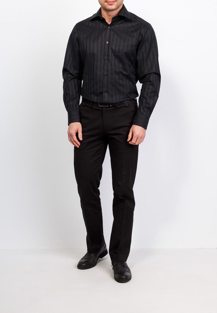 Shirt men's long sleeve BERTHIER Sean 49855 Black