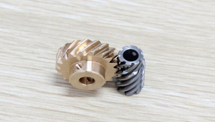 Ingranaggio Cilindrico Ingranaggio Modulo 0 5 Ottone 15 Denti,4mm Larghezza