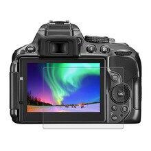 زجاج واقي لكاميرا نيكون D5300 D5500 D5600 واقي شاشة زجاجي مقسى مضاد للخدش طبقة عالية الوضوح زجاج شفاف 9H