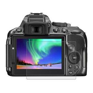 Image 1 - Szkło ochronne na Nikon D5300 D5500 D5600 ochronne szkło hartowane na ekran odporna na zarysowania folia o wysokiej rozdzielczości Clear Glas 9H